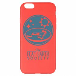 Чехол для iPhone 6 Plus/6S Plus The flat earth society