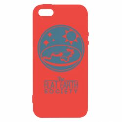 Чехол для iPhone5/5S/SE The flat earth society