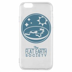 Чехол для iPhone 6/6S The flat earth society