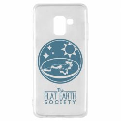 Чехол для Samsung A8 2018 The flat earth society