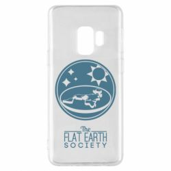 Чехол для Samsung S9 The flat earth society