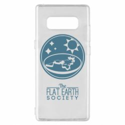 Чехол для Samsung Note 8 The flat earth society