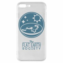 Чехол для iPhone 8 Plus The flat earth society