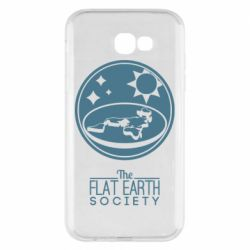 Чехол для Samsung A7 2017 The flat earth society