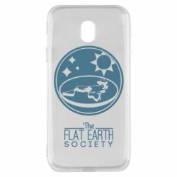 Чехол для Samsung J3 2017 The flat earth society