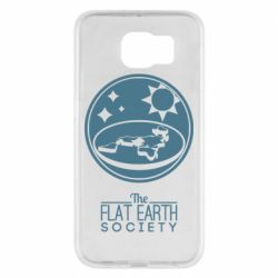 Чехол для Samsung S6 The flat earth society