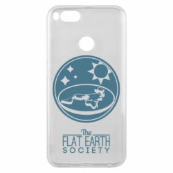 Чехол для Xiaomi Mi A1 The flat earth society