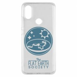Чехол для Xiaomi Mi A2 The flat earth society