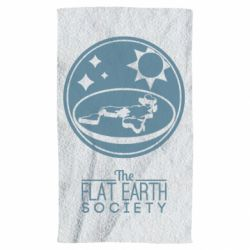 Полотенце The flat earth society