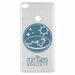 Чехол для Xiaomi Mi Max 2 The flat earth society