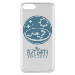 Чехол для Xiaomi Mi Note 3 The flat earth society