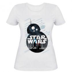 Женская футболка The Force - FatLine