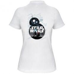 Женская футболка поло The Force - FatLine