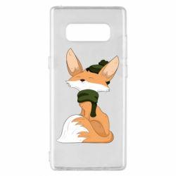 Чохол для Samsung Note 8 The Fox in the Hat