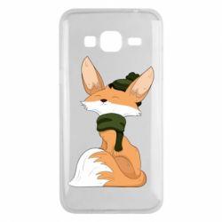 Чохол для Samsung J3 2016 The Fox in the Hat
