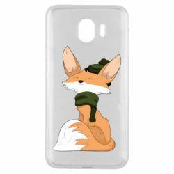 Чохол для Samsung J4 The Fox in the Hat