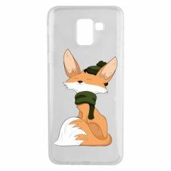 Чохол для Samsung J6 The Fox in the Hat