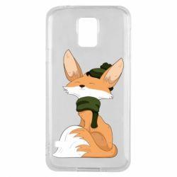 Чохол для Samsung S5 The Fox in the Hat