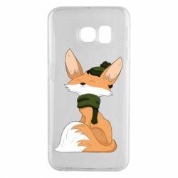 Чохол для Samsung S6 EDGE The Fox in the Hat