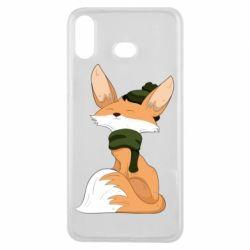 Чохол для Samsung A6s The Fox in the Hat