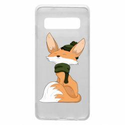 Чохол для Samsung S10 The Fox in the Hat
