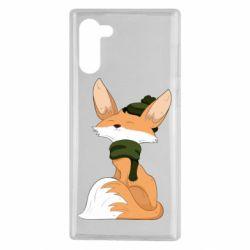 Чохол для Samsung Note 10 The Fox in the Hat