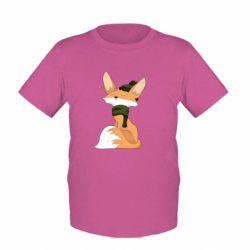 Дитяча футболка The Fox in the Hat
