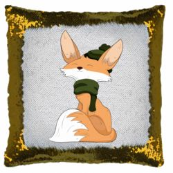 Подушка-хамелеон The Fox in the Hat