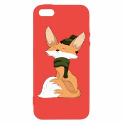 Чохол для iphone 5/5S/SE The Fox in the Hat
