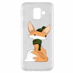 Чохол для Samsung A6 2018 The Fox in the Hat