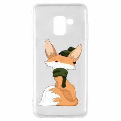 Чохол для Samsung A8 2018 The Fox in the Hat