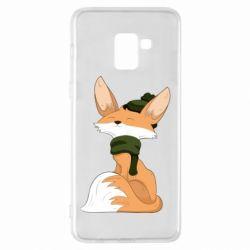 Чохол для Samsung A8+ 2018 The Fox in the Hat