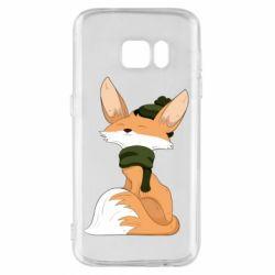 Чохол для Samsung S7 The Fox in the Hat