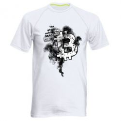 Купить Мужская спортивная футболка The ghost outside the machine, FatLine