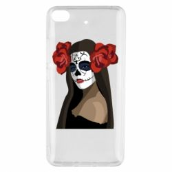 Чехол для Xiaomi Mi 5s The girl in the image of the day of the dead
