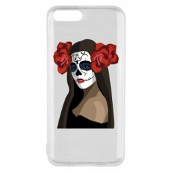 Чехол для Xiaomi Mi6 The girl in the image of the day of the dead