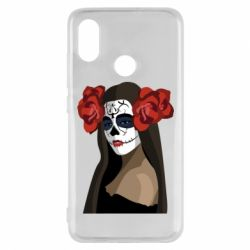 Чехол для Xiaomi Mi8 The girl in the image of the day of the dead