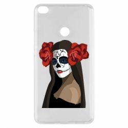 Чехол для Xiaomi Mi Max 2 The girl in the image of the day of the dead