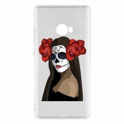 Чехол для Xiaomi Mi Note 2 The girl in the image of the day of the dead
