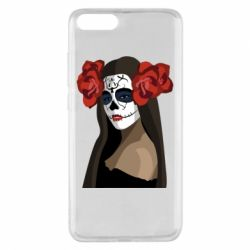 Чехол для Xiaomi Mi Note 3 The girl in the image of the day of the dead