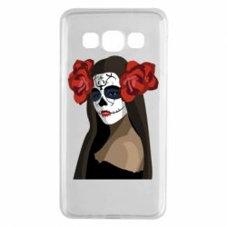 Чохол для Samsung A3 2015 The girl in the image of the day of the dead