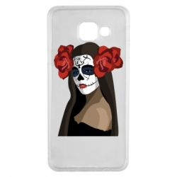 Чохол для Samsung A3 2016 The girl in the image of the day of the dead