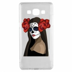 Чохол для Samsung A5 2015 The girl in the image of the day of the dead