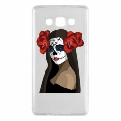 Чохол для Samsung A7 2015 The girl in the image of the day of the dead