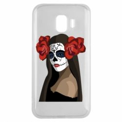 Чохол для Samsung J2 2018 The girl in the image of the day of the dead