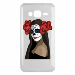 Чохол для Samsung J3 2016 The girl in the image of the day of the dead
