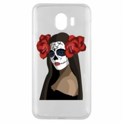 Чохол для Samsung J4 The girl in the image of the day of the dead