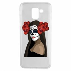 Чохол для Samsung J6 The girl in the image of the day of the dead