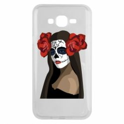 Чохол для Samsung J7 2015 The girl in the image of the day of the dead