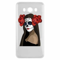 Чохол для Samsung J7 2016 The girl in the image of the day of the dead